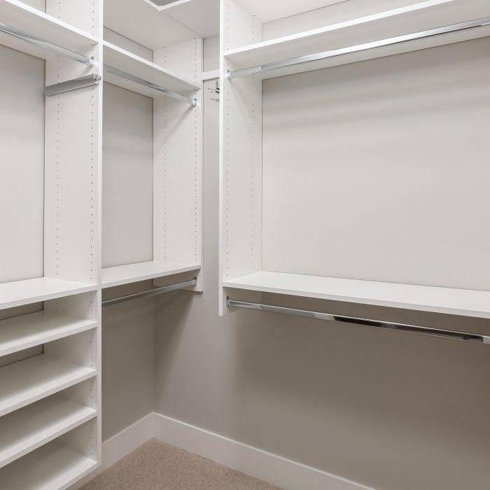 Meyer Place Master Walk-in Closet