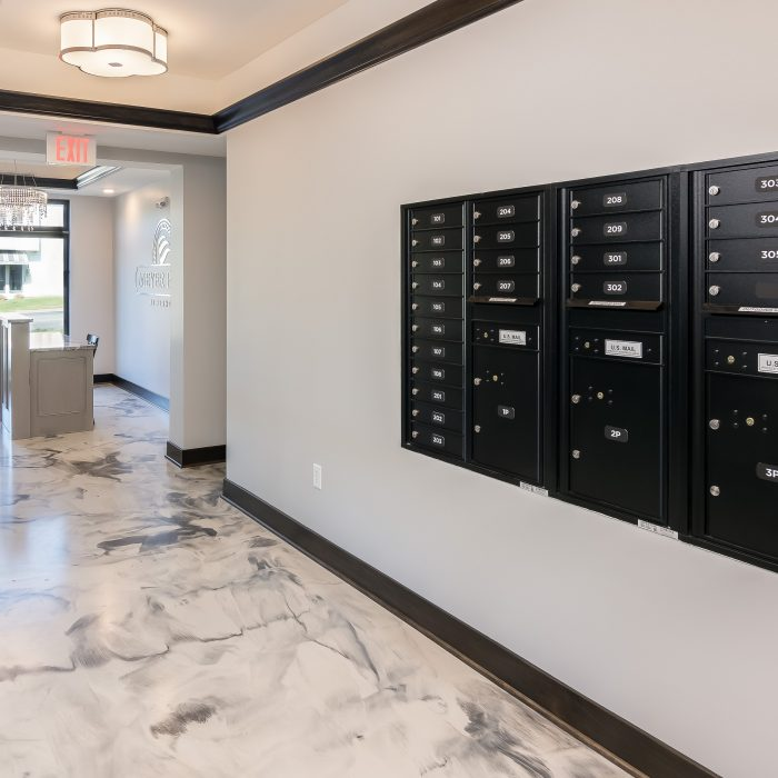 Meyer Place Mail Boxes